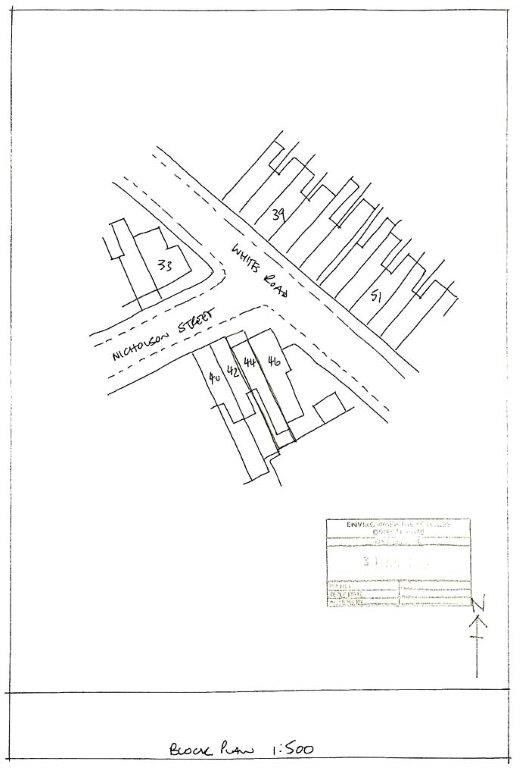 A Block Plan rejected by Council for planning purposes