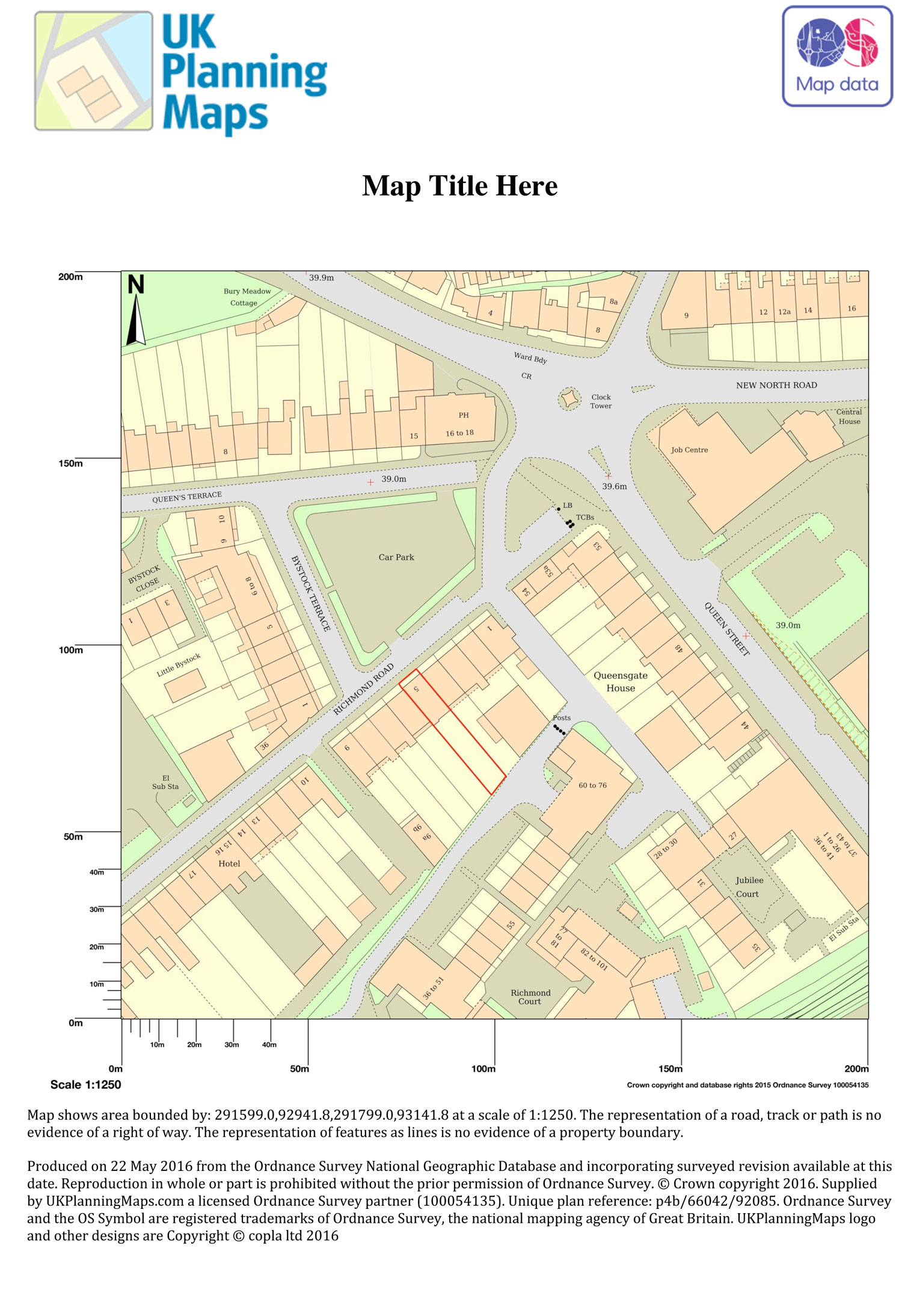 Site Location Plan Approved by Council